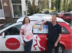 Fysiotherapie Ruesink ondersteunt Olympisch atlete Andrea Deelstra